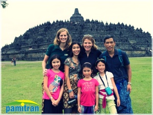 borobudur with pamitran